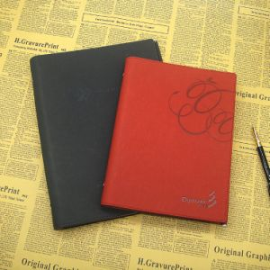 PU Journal / Refillable Leather Journal / Graph Paper Notebook pictures & photos