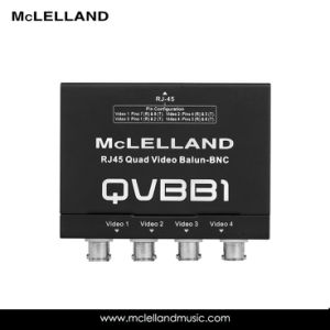 RJ45 Quad Audio Balun -BNC (QVBB1) pictures & photos