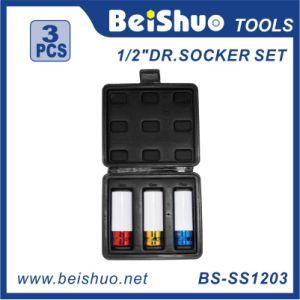 """High Quality 3PCS 1/2"""" Dr Socket Set pictures & photos"""