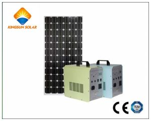 60W New Type DC Portable Solar Home Power System pictures & photos