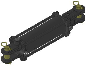 3000psi Tie-Rod Hydraulic Cylinder USA Standard pictures & photos