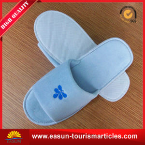 Large Logo Printed Airline Inflight Disposable Slippers pictures & photos