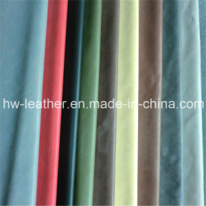 Hot Sell Garment PU Leather (HW-1281) pictures & photos