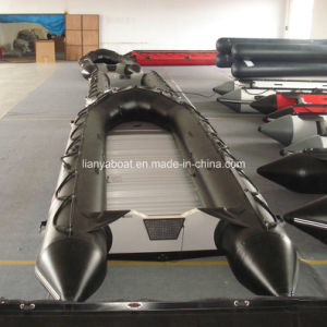 Liya High Quality 3.8m-6.5m Hypalon Inflatable Dinghy Rubber Boat pictures & photos