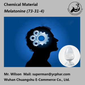 Chemical Powder Melatonine to Improve Sleeping 73-31-4 pictures & photos