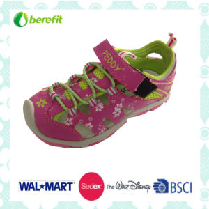 Bright and colorful PU Upper, Children′s Sandals pictures & photos