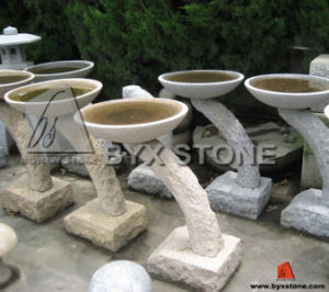 Natural Stone Garden Birdbath for Decoration pictures & photos