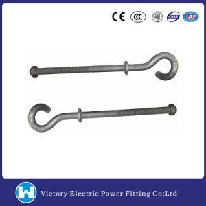 Pig Tail Screw Bolt for Pole Line Hardware pictures & photos