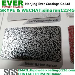 Silver/Copper Antique Powder Coating Paint Electrostatic Spray pictures & photos