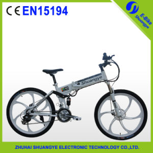 High Speed Folding Mountain Bike with 36V Battery 250W Motor pictures & photos