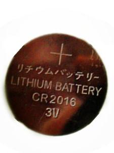 3V Lithium Car Key Button Battery (CR2016) pictures & photos