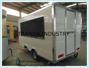 Mobile Restaurant Truck Mobile Kitchen Food Van for Sale pictures & photos