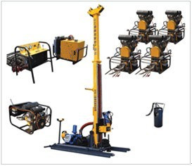 Full Hydraulic Portable Drilling Rig (HYDX-2)