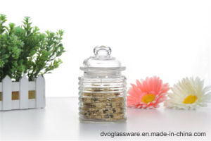 Glass Spice Jar with Glass Lid