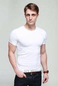 Men Plain White Polo T Shirt