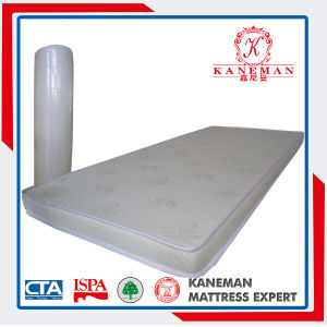 Hot Sell Roll Packing Single Size Foam Mattress pictures & photos