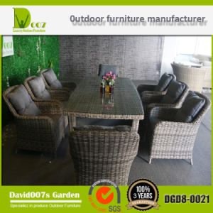 Rattan Wicker Patio Furniture Garden Dining Table Set DGD8-0021 pictures & photos
