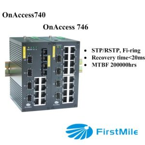 Gigabit Advanced Managed Industrial Ethernet Switch pictures & photos