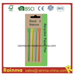 Color Paper Ballpoint Pen with Nice Design pictures & photos