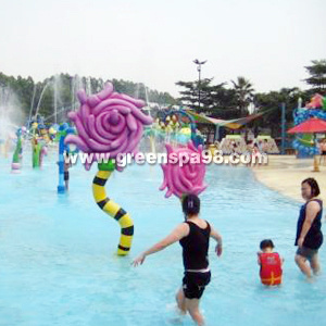 Flower Spray, Aqua Play Equipment pictures & photos
