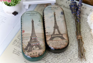 Pencil Tin Box Metal Glasses Case pictures & photos