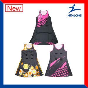 Healong Sublimation Netball Dress Netball Uniform pictures & photos