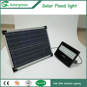 20W High Lumens Constant Lighting 3 Days Backup Solar Floodlight pictures & photos