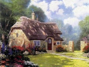 Thomas Landscape Oil Painting for Home Decor pictures & photos