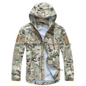 Military Hardshell Jacket with High Quality Waterproof and Breathable pictures & photos