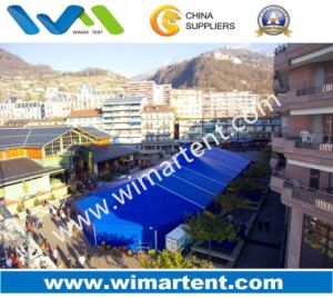Outdoor High Peak Marquee Tent with Fan-Shaped Gable End (WM-AT-HP-15M) pictures & photos