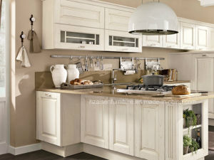 American Shaker Door Panel Solid Wood Kitchen Cabinet pictures & photos