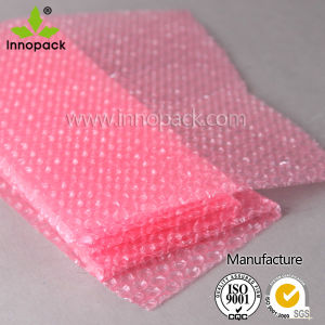 Double Layer Red Bubble Film Anti-Static Roll pictures & photos