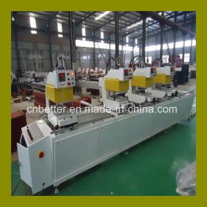 UPVC Door Window Equipment Four Head Welding Machine / UPVC PVC Windows Welder Machine