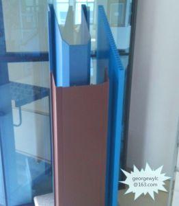 Glass Wall Aluminium Extrusion Profile for Aluminium Foil pictures & photos