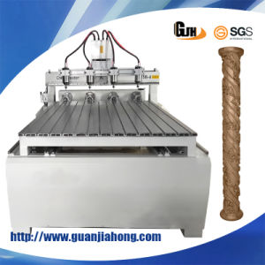 2D&3D Engraving, 4 Axis, PMI Rail Guild and Screw, Stepper, 1325 Multi Spindles Furniture CNC Router pictures & photos