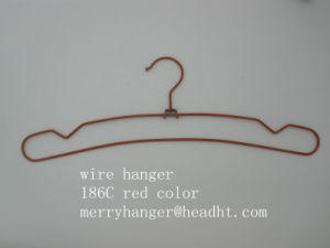 Wire Metal with Notches F Pant Clothes Hangers, Metal Hanger for Coats pictures & photos