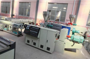 PVC Pipe (dia. 16-63, 2 cavities in 1 die) Production Line/Pipe Extrusion Line pictures & photos