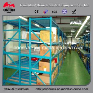 Warehouse Steel Roller Self Slide Shelf Rack pictures & photos