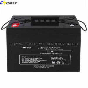 Lead Acid AGM Battery 3years Warranty 12V90ah pictures & photos
