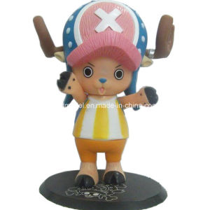 Soft Plastic One Piece Figure Toy with Base (Chopper) pictures & photos