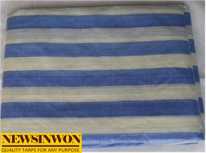 50GSM-250GSM Blue PE Tarpaulin