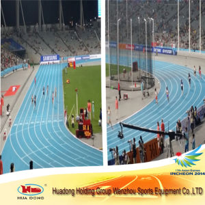 Asian Games Eco-Friendly Synthetic Stadium Running Track for Sports pictures & photos