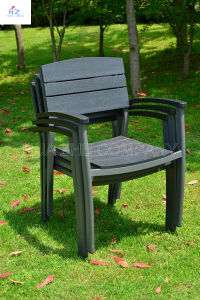Garden Furniture by Plastic Wood for Outdoor Furniture Park Furniture with Chair pictures & photos