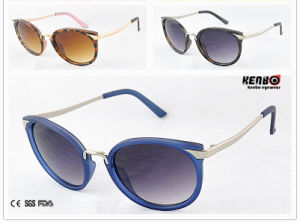 Fashion Hot Sale Sunglasses with Metal Temple for Accessory. UV400 CE FDA Kp50250 pictures & photos