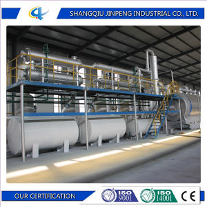 Easy for Installation Jinpeng Waste Plastic Recycling to Energy Plant pictures & photos