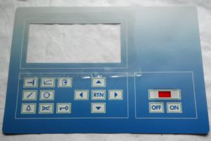 Big Size Buttons Border Embossing Membrane Keypad Switch Machine Application Control Panel pictures & photos