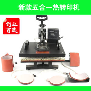 5 in One Heat Transfer Machine pictures & photos