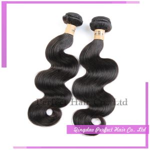 Express Natural Color 8 Inch Body Wave Brazilian Hair Weft pictures & photos