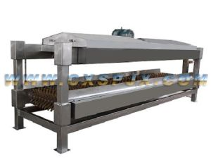 Poultry Slaughtering Equipments: Horizontal Type Flat Defeathering Machine