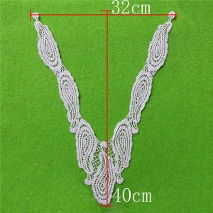 Fashion Hand-Made Cotton Lace Collar (cn07) pictures & photos